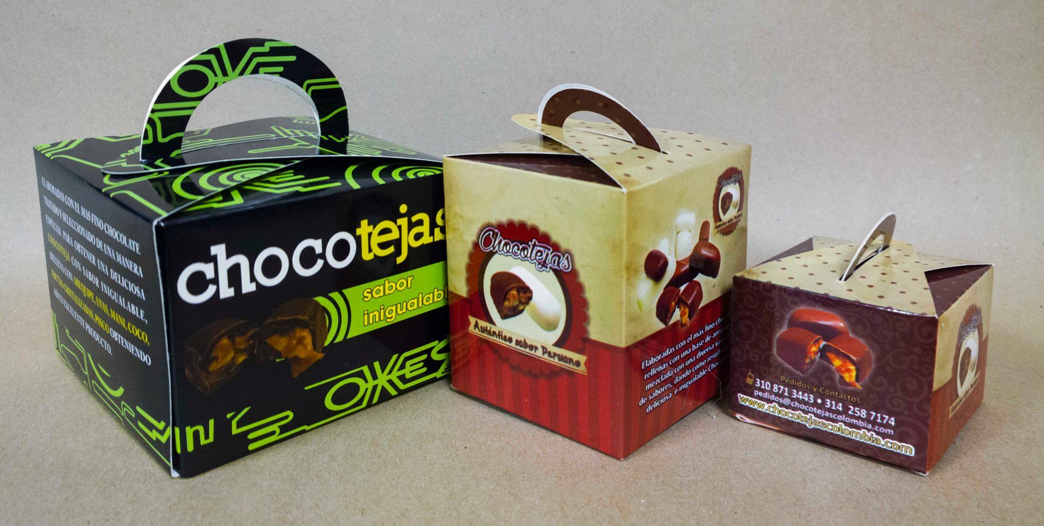 Ricos chocolates en bogota